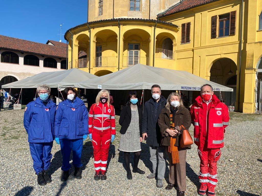 Assistenza al Centro Vaccinale in Santa Chiara